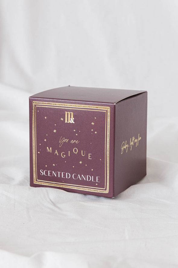 You Are Magique Boxed Candle