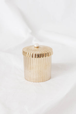 Brass Container Freshwater Pearl