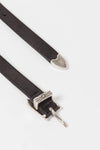 Josefine Leather Belt Black