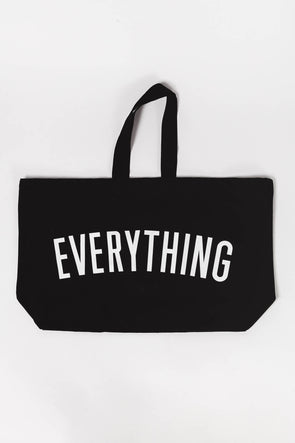 Everything Really Big Canvas Bag - Alphabags