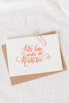 Mini Mistle Toe Card