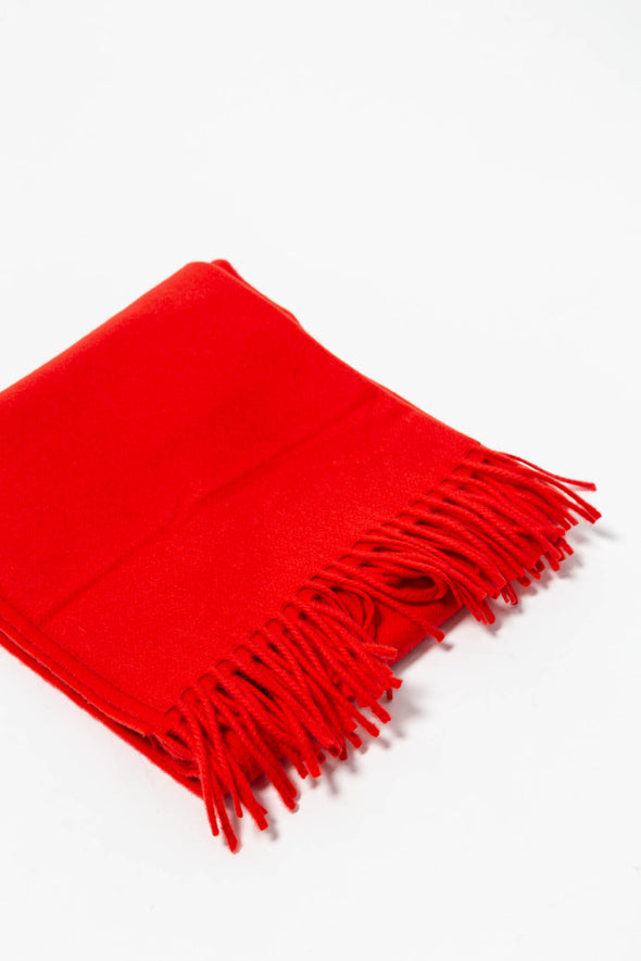 Accola Maxi Scarf Flame Scarlet