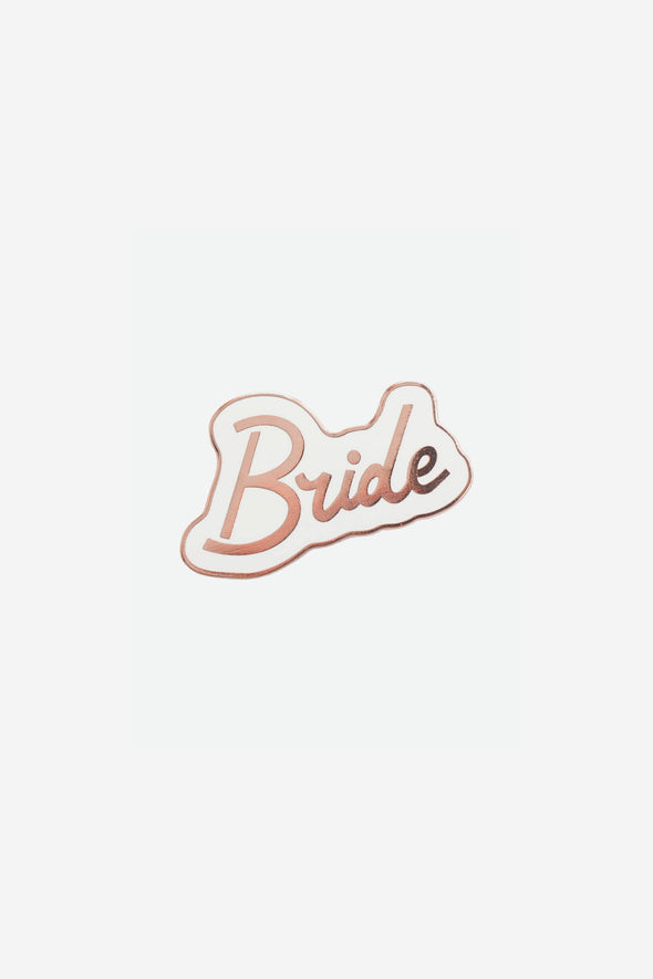 Bride Enamel Pin
