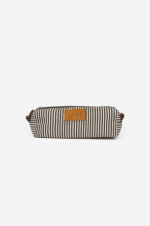 Signature Pencil Case Cotton/Camel Hunter