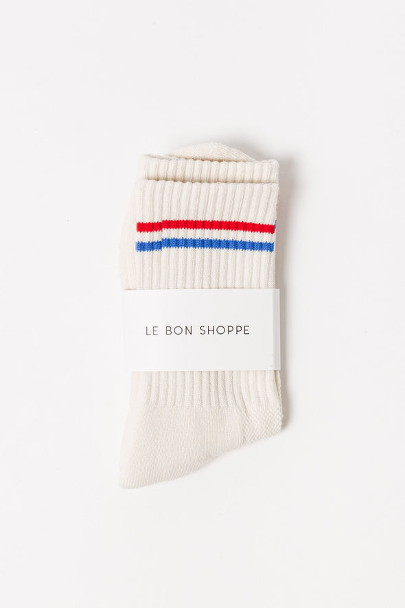 Le Bon Shoppe Socks Milk