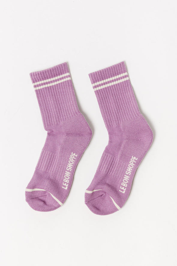 Le Bon Shoppe Socks Boyfriend Grapes