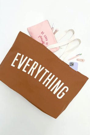 Big Canvas Bag 'Everything' Tan