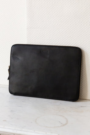 "Zipper Laptop Sleeve 15"" Black"