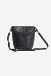Bobbi Bucket Bag Black Croco
