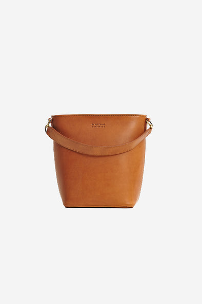 Bobbi Bucket Bag Cognac Classic Leather