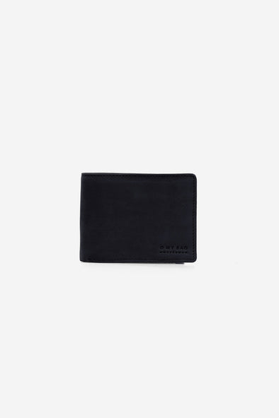 Tobi's Wallet Black Hunter Leather