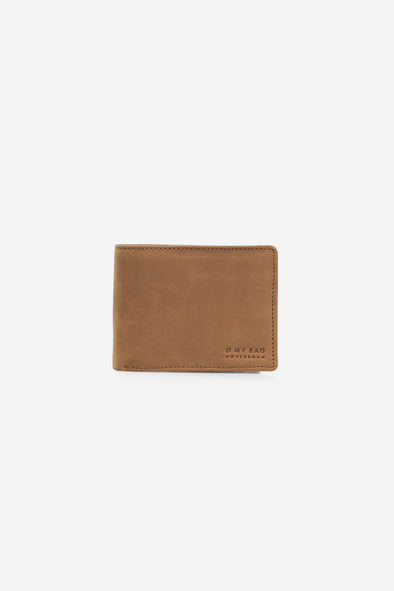 Tobi's Wallet Camel Hunter Leather