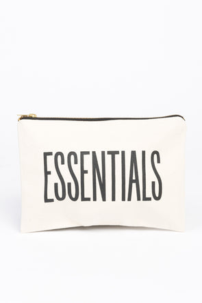 Large Canvas Pouch Essentials