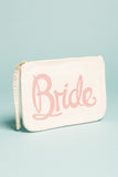 Bride Canvas Pouch Pink