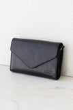 Josephine Chain Bag Black - O My Bag - black envelope bag eco leather