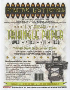 "1.5"" Half Square Triangle Paper"