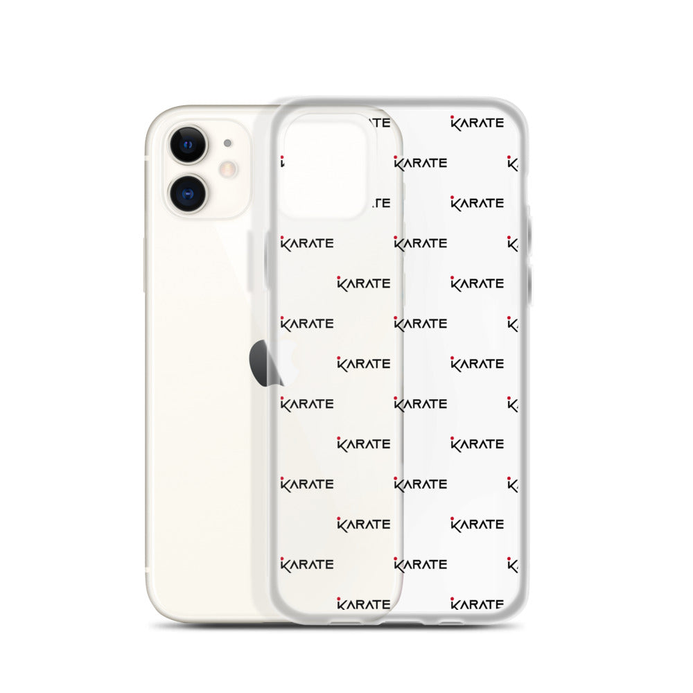 iPhone Case Karate Pattern