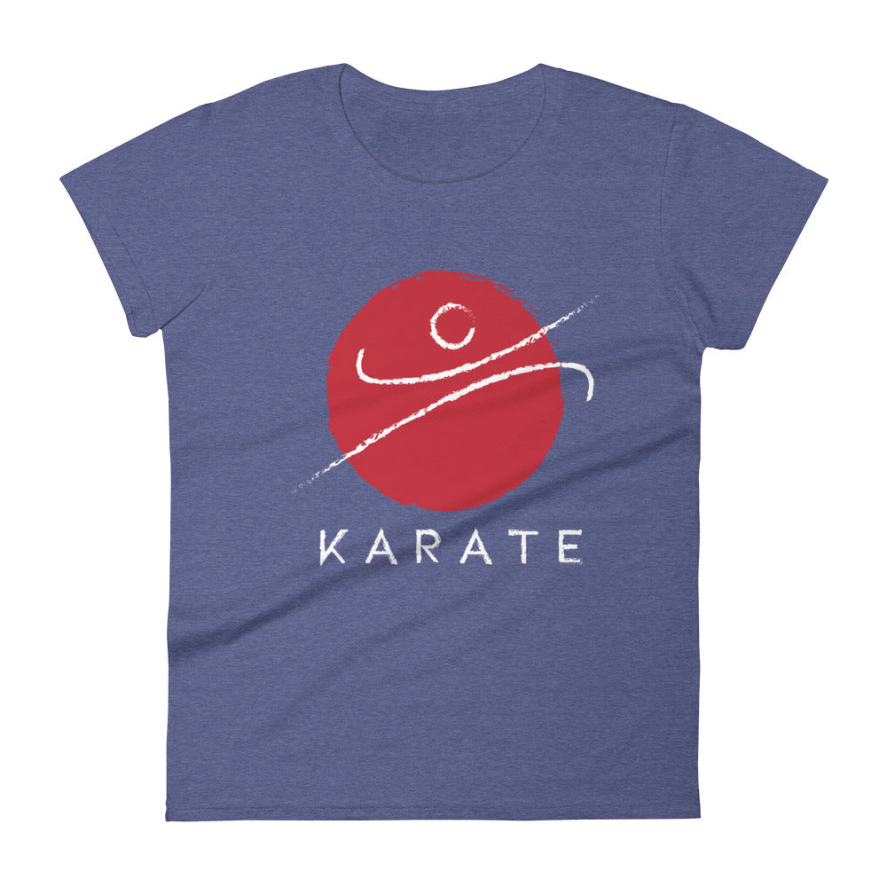 Red Karate K T-Shirt- Women