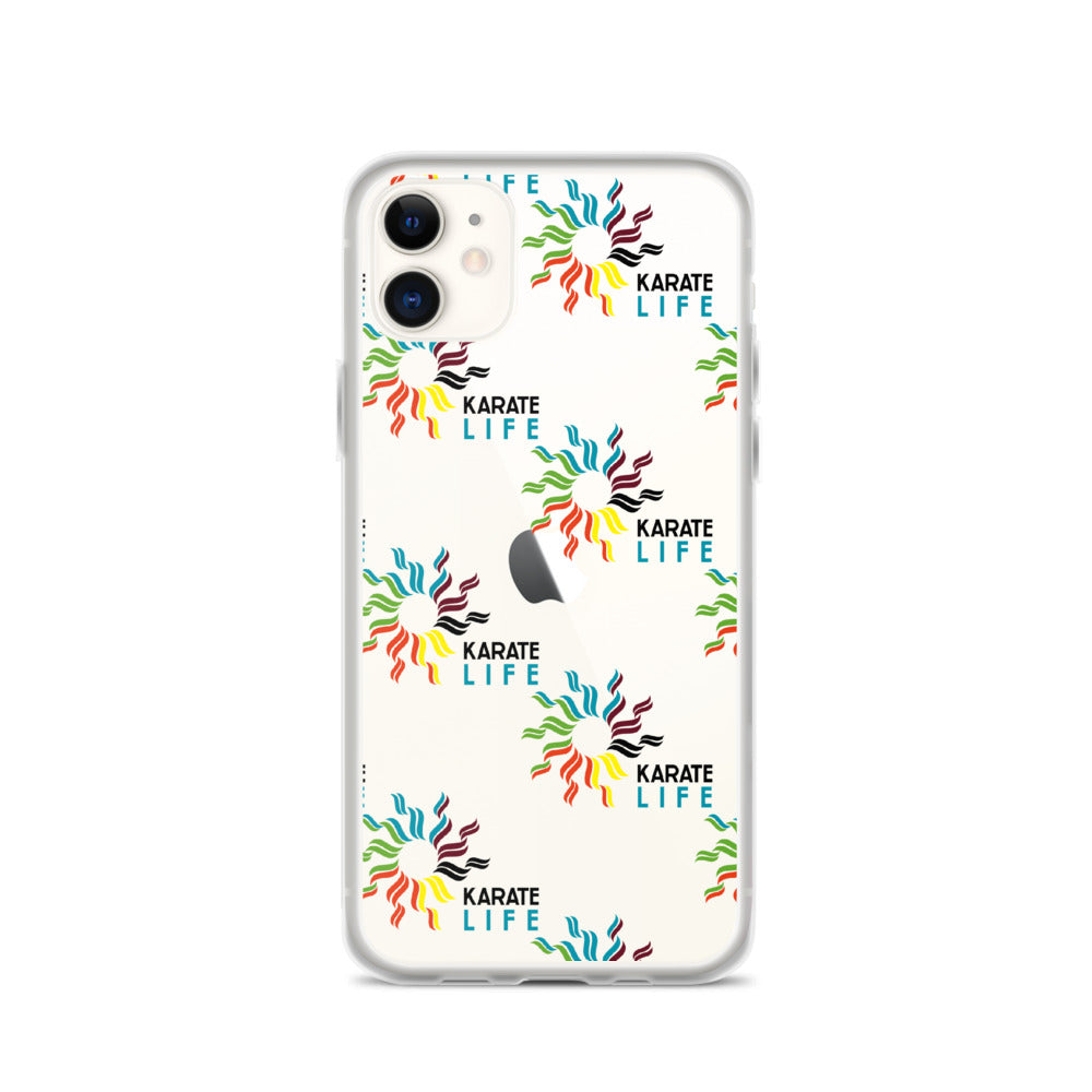 iPhone Case Karate Life Pattern