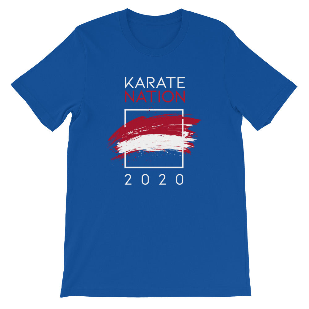 Karate Nation Indonesia Square Design T-Shirt - Unisex