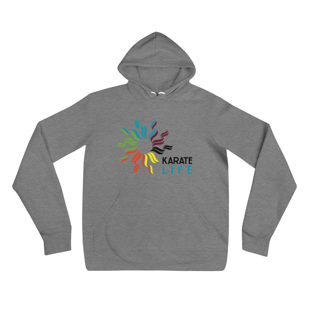 Karate Life Gray Hoddie