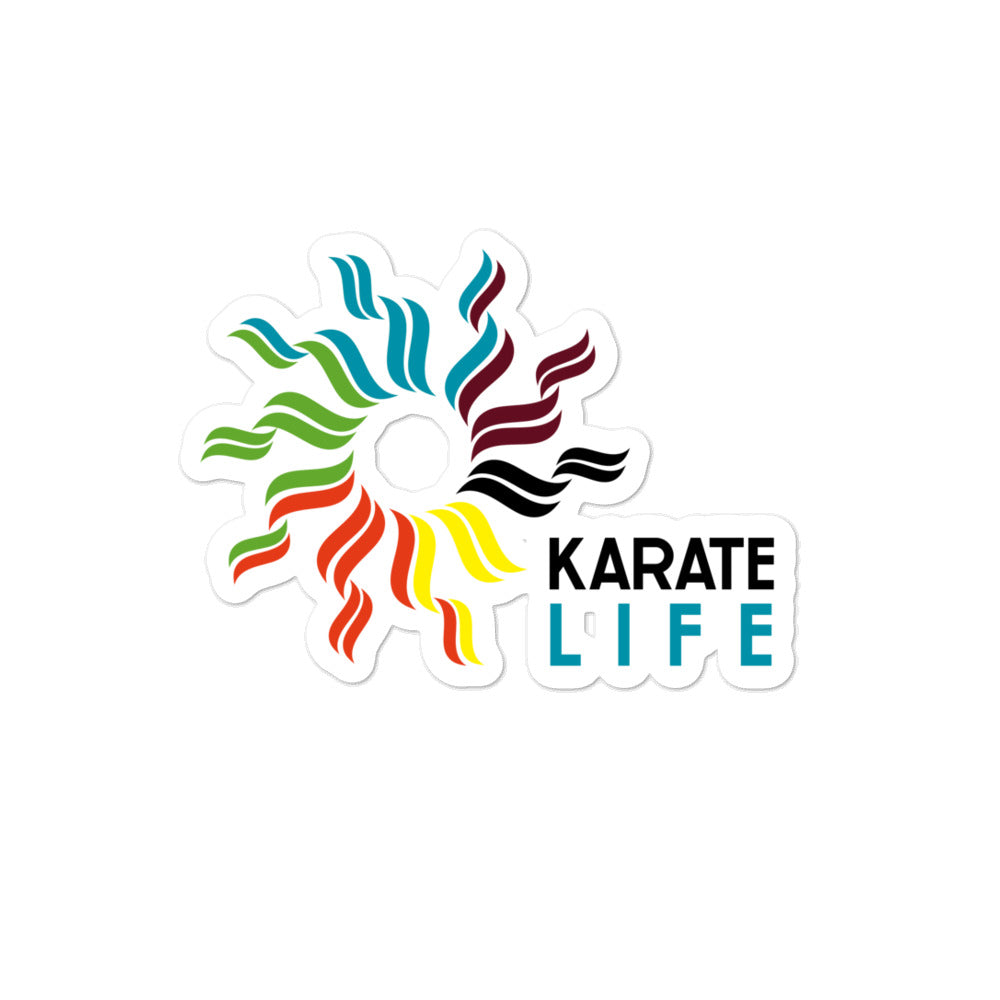 Karate Life Sticker