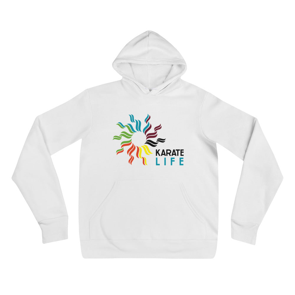 Karate Life White Hoddie