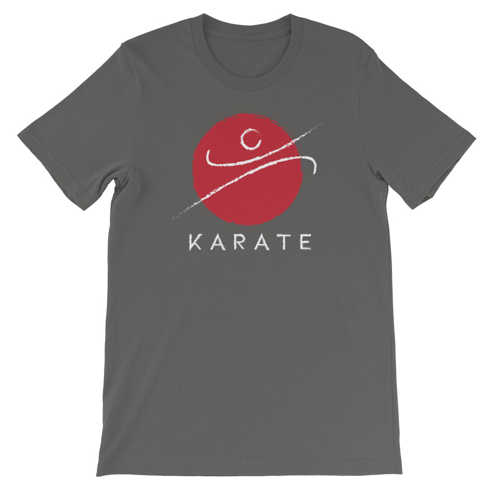 Red Karate K T-Shirt Unisex