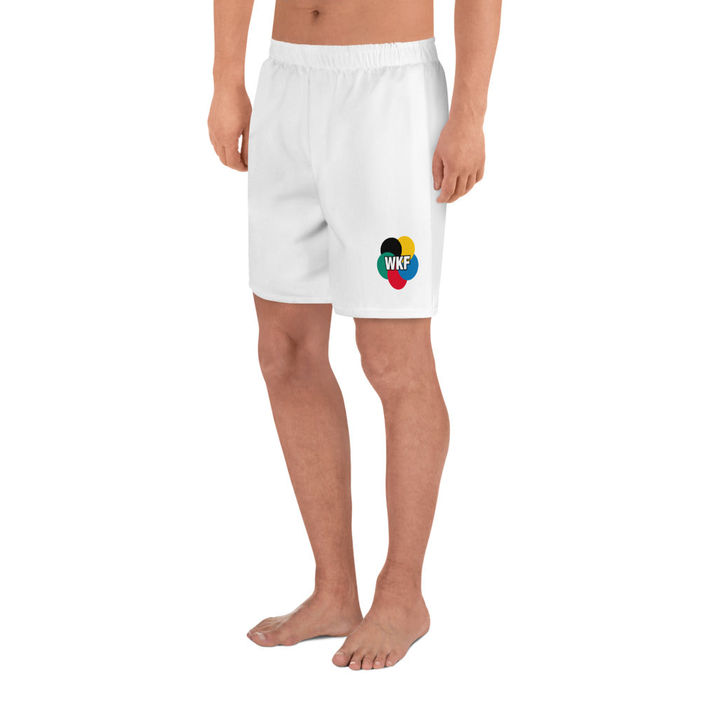 Karate Athletic Shorts - WKF (on its side)