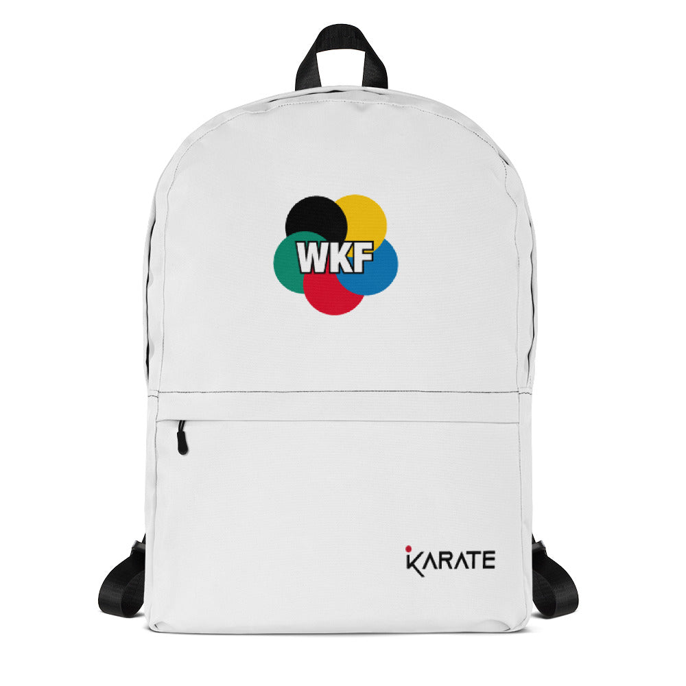 WKF Backpack - white