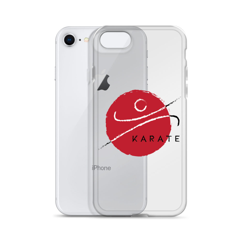 iPhone Case Round Red Karate