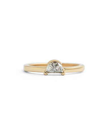 Sunset Ring / White Diamond