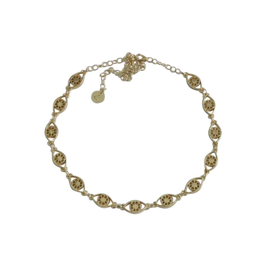 Bright Eye Choker / Gold