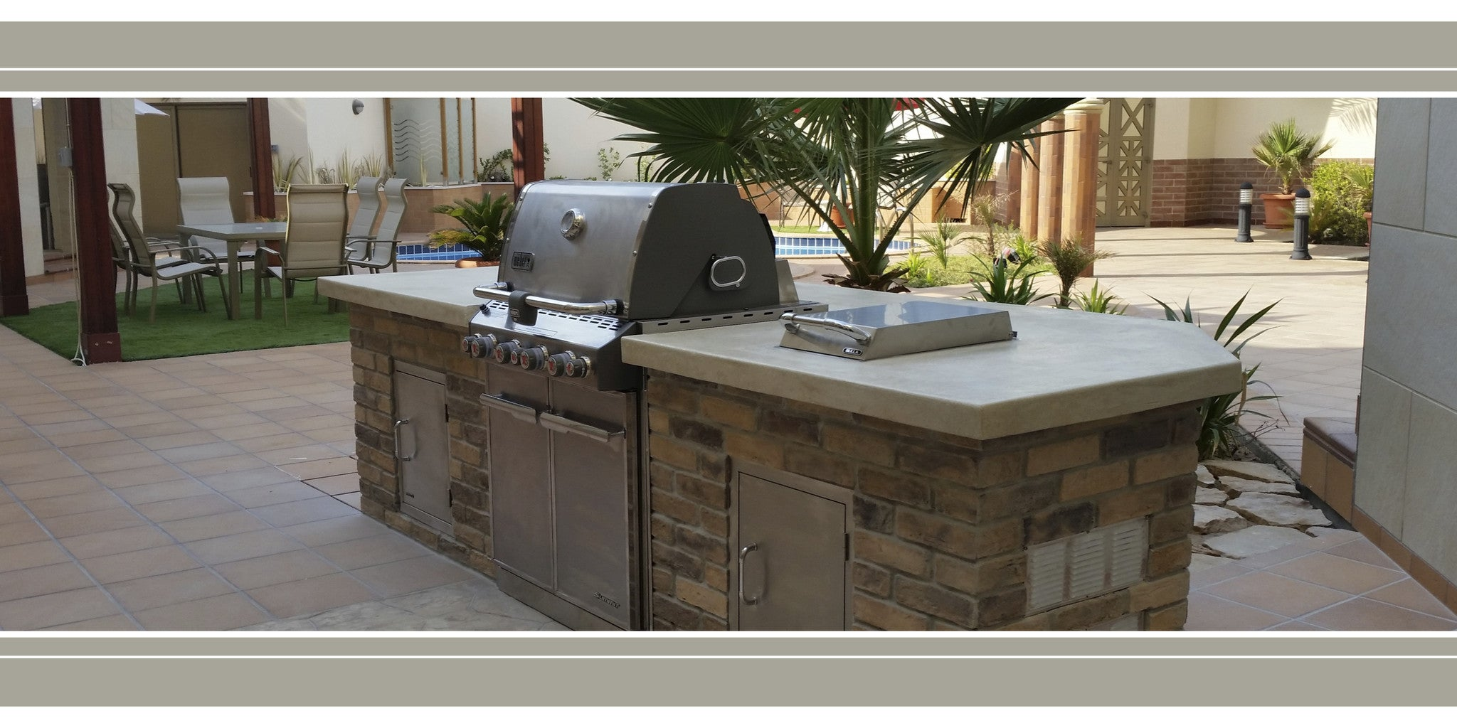 Outdoor Kitchen Saudi Arabia