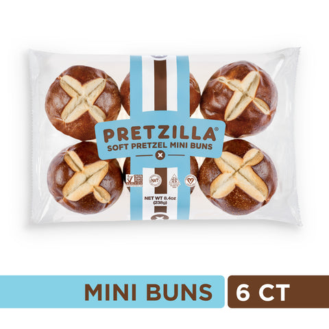 Pretzilla® Mini Buns (Pack)
