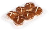 Wholesale Pretzilla Sliced Burger Buns (Case)