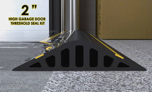 "2"" high Garadam Garage door flood barrier"