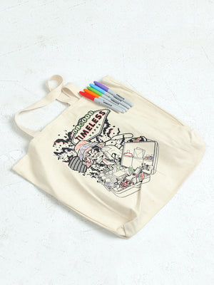 Timeless Halloween Coloring Tote