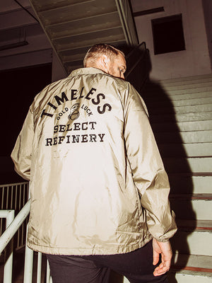 Gold Luck Windbreaker