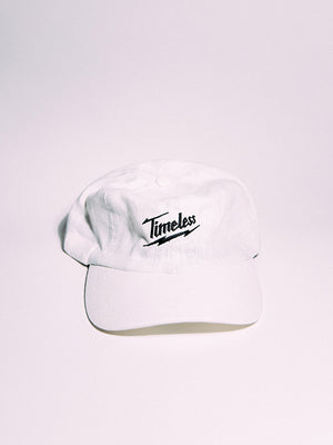 Timeless Hemp Dad Hat (White)