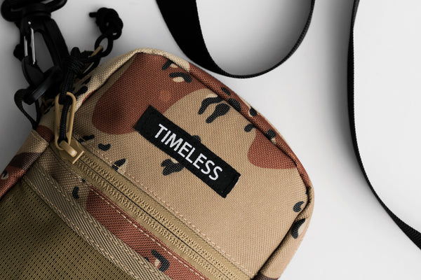 Timeless Shoulder Bag Desert Camo SS18