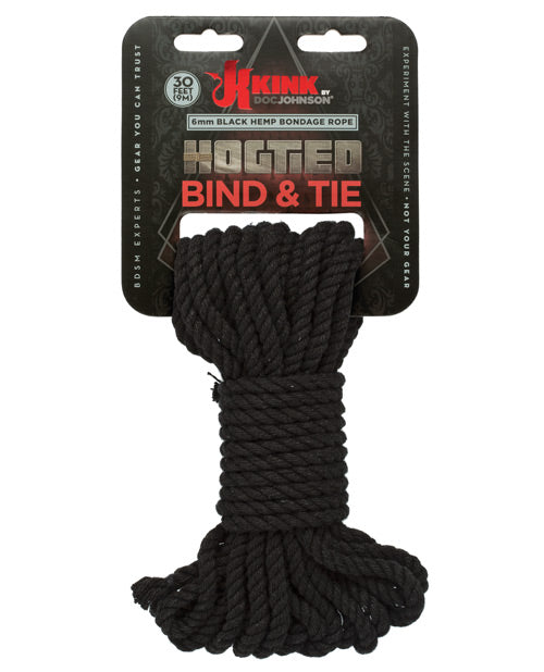 Natural 30 ft Bind & Tie Hemp Rope by Kink