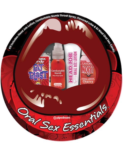 Oral Sex Essentials Sampler Kit