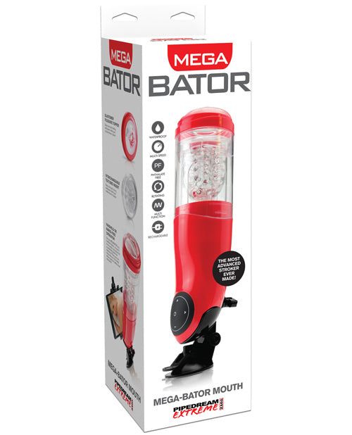 Mega-Bator Rechargeable Stroker- Mouth