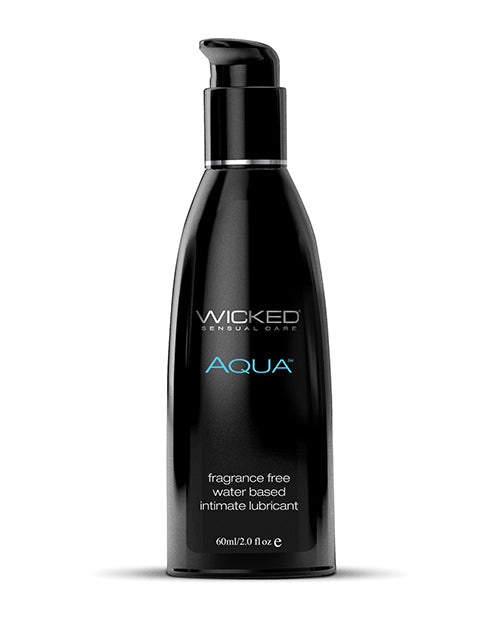 Wicked Sensual Care Aqua Water Based Lubricant- Fragrance Free
