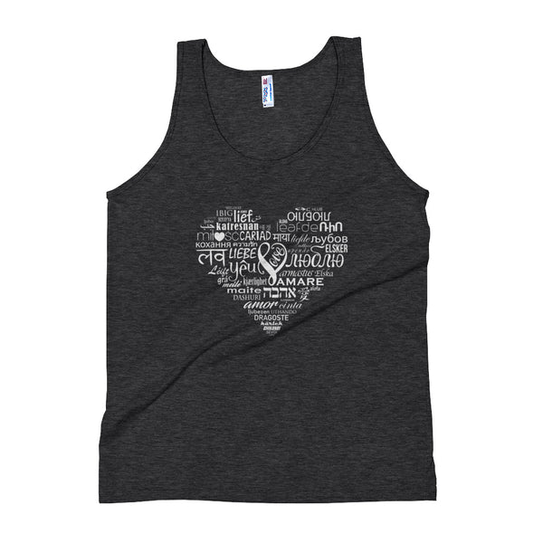 LOVE LANGUAGES WB Unisex Tank Top