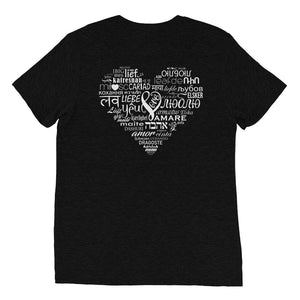 LOVE LANGUAGES W t-shirt