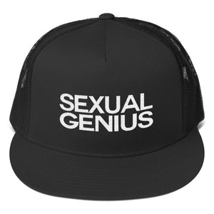 SEXUAL GENIUS 1 Trucker Cap