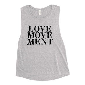 LOVE MOVEMENT Ladies' Muscle Tank