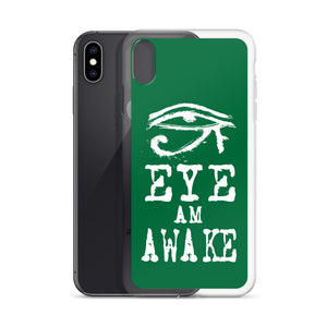 EYE AM AWAKE iPhone Case